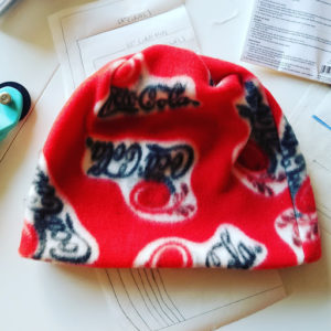 sip and sew, old town, beanie, hat