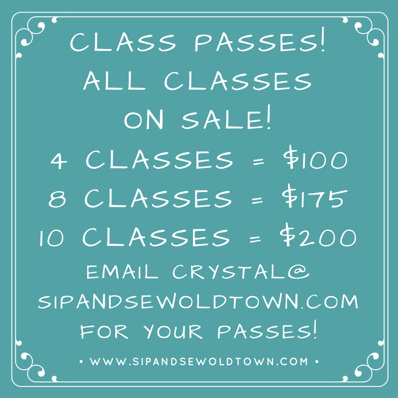 sip and sew old town, cyber monday